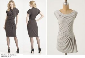 MaxMars Runched dress Saks5thAve $725 combo