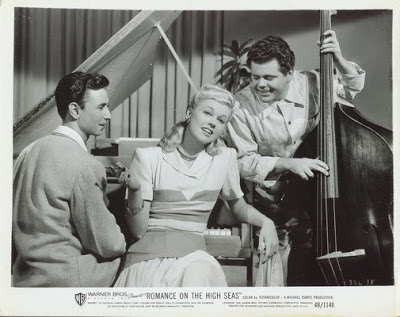 Lloyd Pratt (bass) in Doris Day film debut,1948