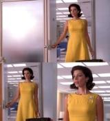 Megan's Mad Men yellow dress
