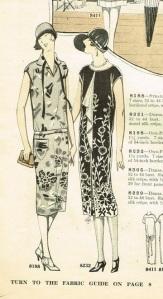 1926 vertical jabot dress pattern ad-cropped