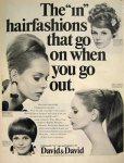 1966 David n' David wig advert
