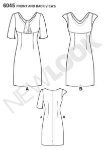6045line drawing
