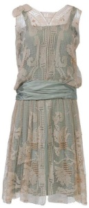 Flapper lace 20s dress at designerwallace