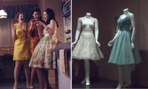 Mad Men 60's variety dresses_Trudy in poufy dress combo