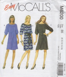 McCall's 6200 tunic dresses