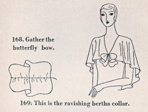 ParisFrocks1930-12,Bertha collar refashion