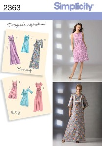 Simplicity 2363 cover picture