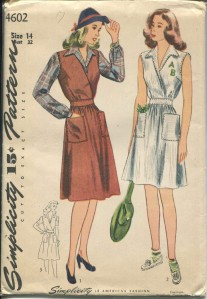 Simplicity 4602 cover drawing