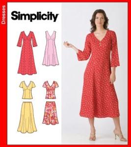 Simplicity3827 dresses