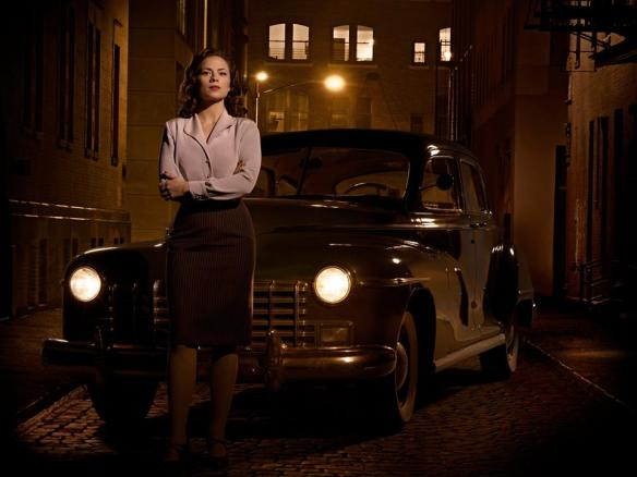 Peggy in front of vintage car facebook photo