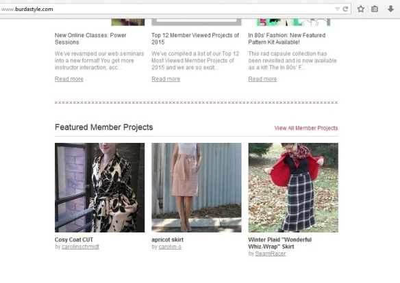 Burda Style Featured Member Project Highlight Feb 26,2015-cropped