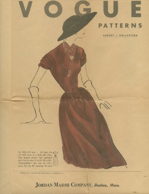 VogueLeafletAug1951-cover photo