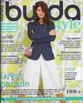 April 2015 Burda Style magazine cover