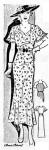 PastPatterns#2303 SummerPartyDress ca1935