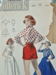 Butterick 8170, a 1950s rockabilly style set