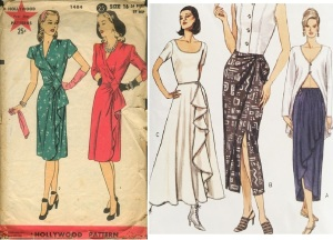 Hollywood 1484, year 1944 & Vogue 9013, year 1994