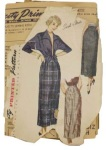 Simplicity 2937, year 1949 pattern for a lady's jacket and skirt