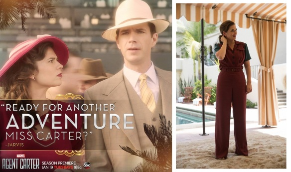'Ready for another adventure' pic at the racetrack-combo with two-tone pants set