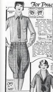 Sears 1927 catalog broadcloth shirt