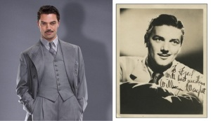 Stark from Agent Carter, left-Actor William Wright, right