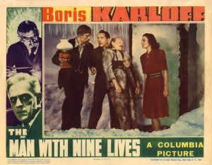 The Man with Nine Lives, 1940 film, movie poster
