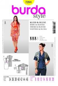 Burda Style pattern 7201