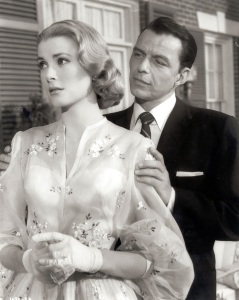 Grace Kelly and Frank Sinatra 1956 in the movie High Society