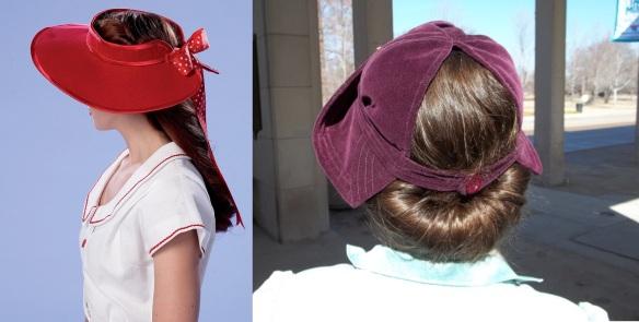 B6363 and my velvet 1940 hat