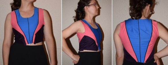 Coctail dress bodice combo pic-comp