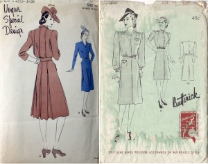 Vogue S4223, early 40's -B1192 year 1941-comp