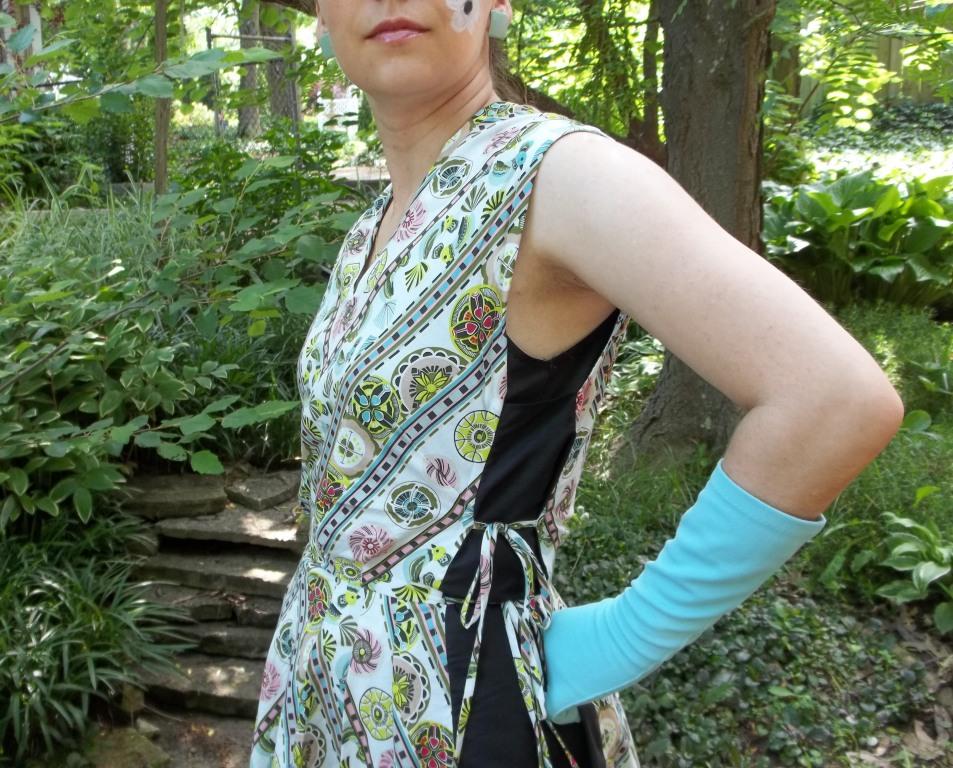 tabard-style dress | Seam Racer