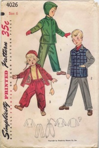Simplicity 4026, year 1952