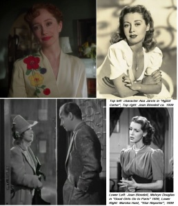 1939 Hollywood inspiration collage