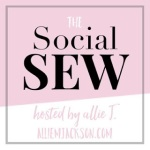 Allie J's Social Sew badge