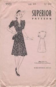 Superior pattern 9931, envelope front-comp