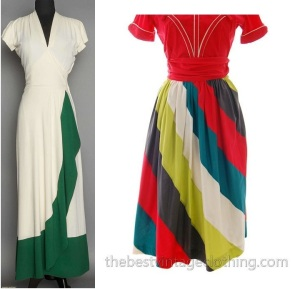 1940s-dress-w-green-panel-side-pin-fm-augusta-auctions-junior-house-cotton-40s-skirt