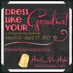 DressLikeYour Grandma Challenge 2017 badge