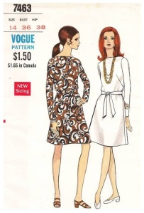 Vogue 7463, late 1968 or early 1969