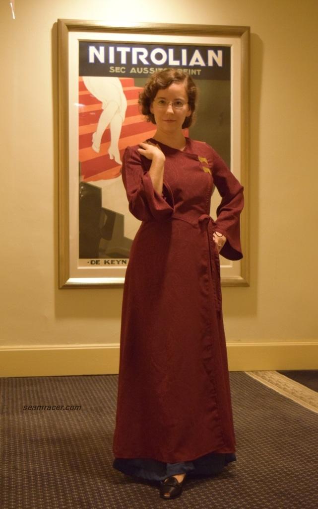 vintage dressing gown | Seam Racer