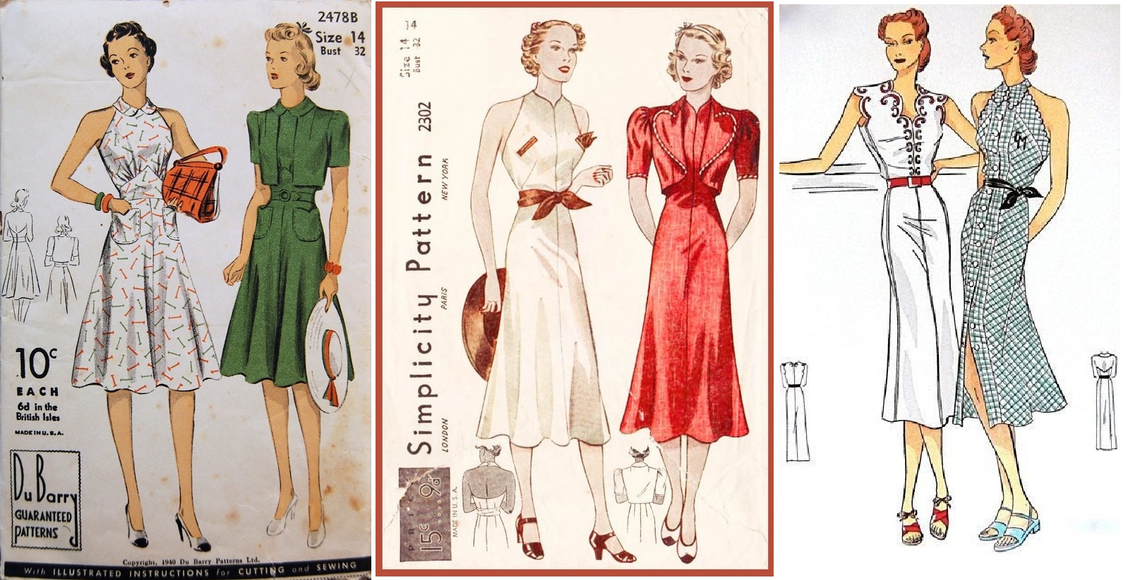 ea9df6ea2c From seeing full-skirted, halter-style garments paired with a separate  cover-up pop up again and again in between 1936 and 1940 respectively, this  is seems ...